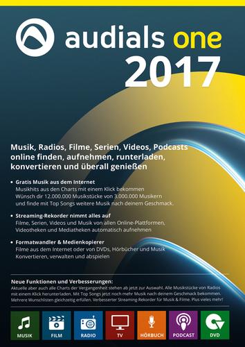 Audials One 2017 für 19,90€