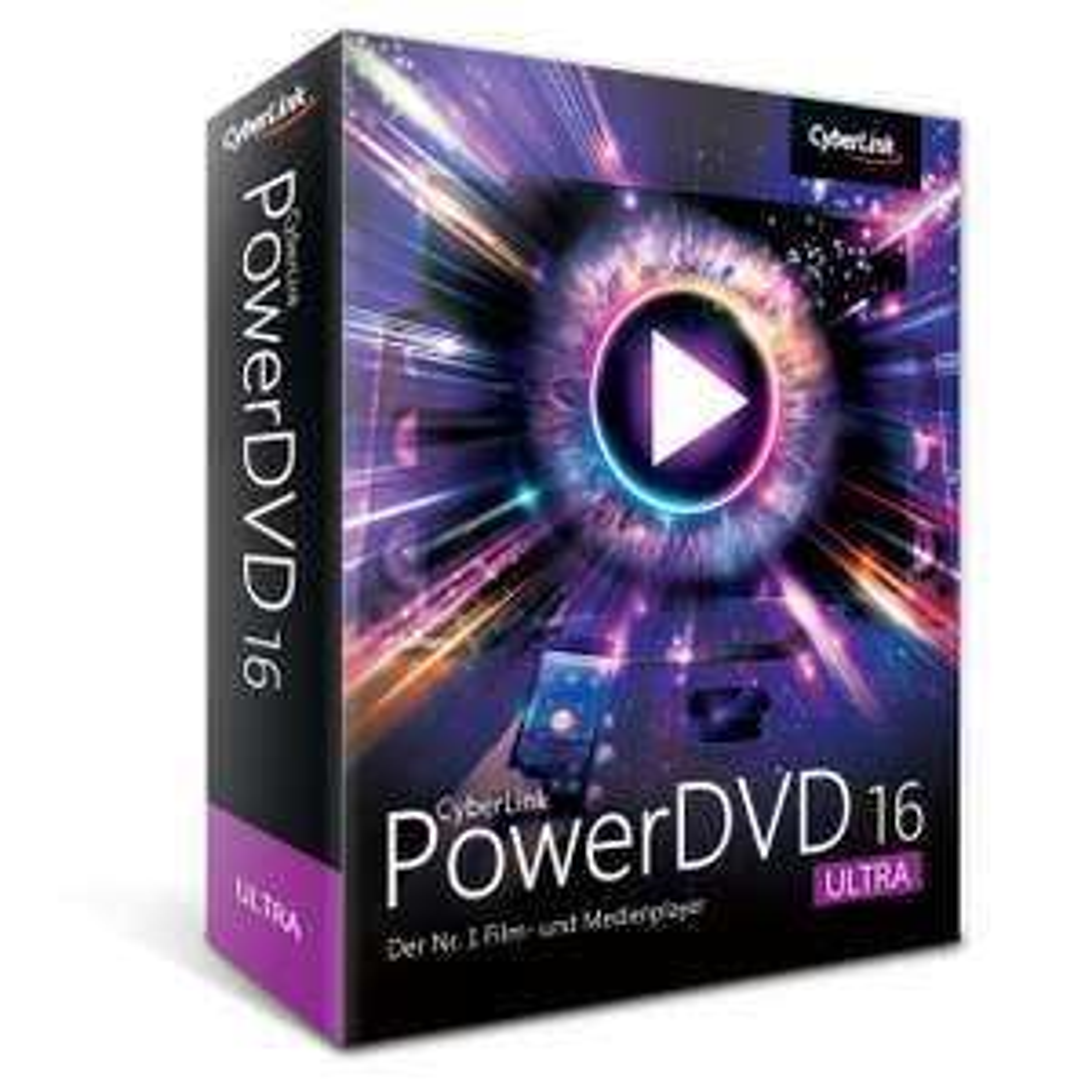 Cyberlink PowerDVD 16 Ultra + PhotoDirector 7, 8 Ultra + Power2Go 11 Platinum + MediaEspresso 7.5 etc.