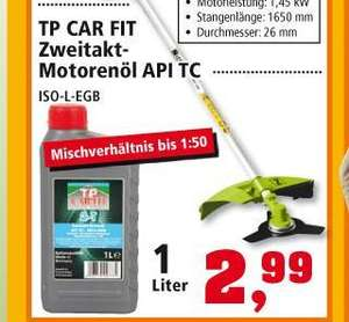 1 Liter 2-Takt Öl bei Thomas Philipps nur 2,99€