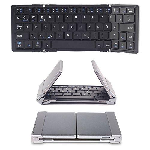 [Amazon] faltbare Bluetooth Tastatur mit QWERTZ