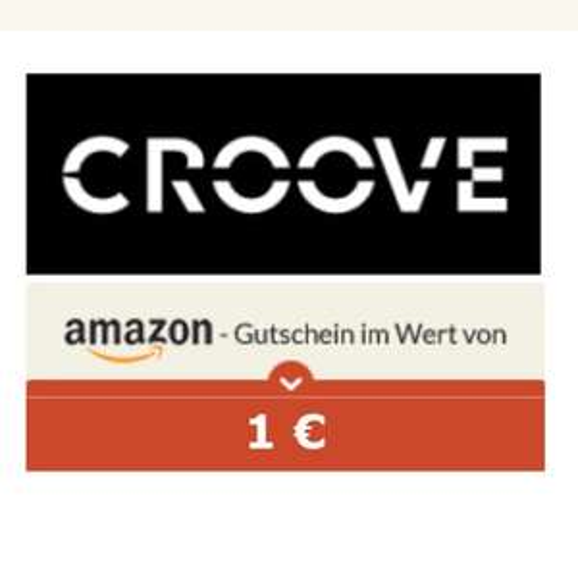 [spartanien] 1€ Amazon-Gutschein für Installation der croove app (gratis) (nur iOS)