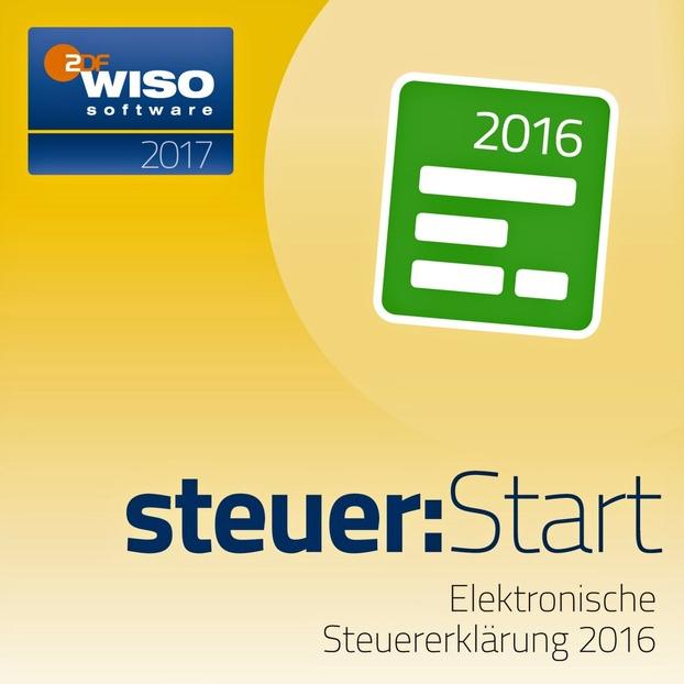 WISO steuer:Start 2017 (für Steuerjahr 2016) [PC Download] (Amazon)