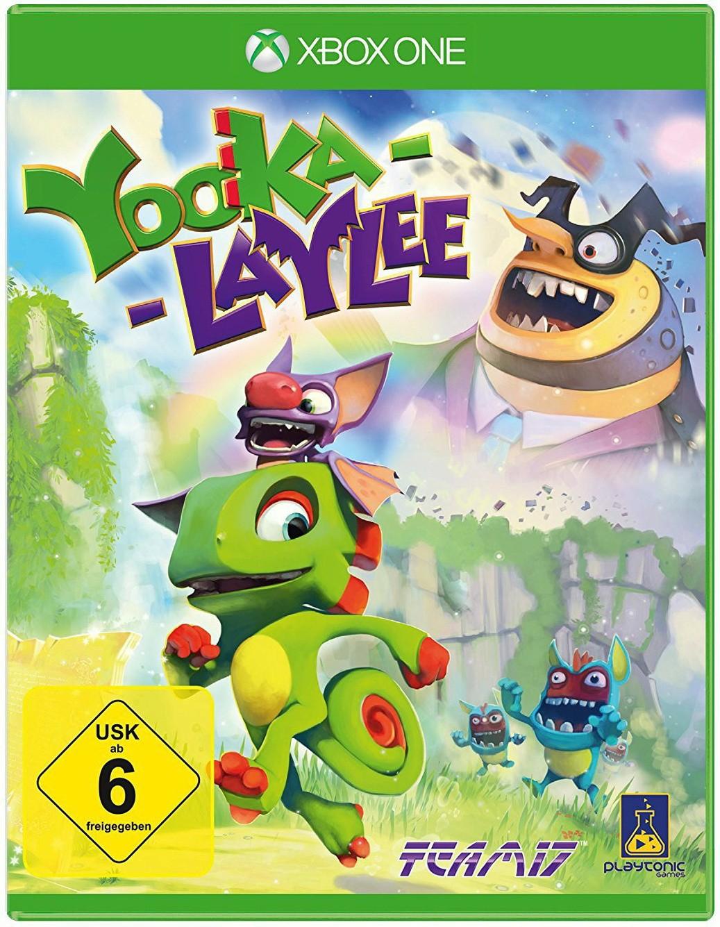 Yooka-Laylee (Xbox One & PS4) für je 27,99€ (Müller)