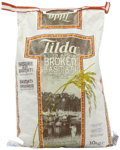 [Amazon Prime] Tilda Basmati Reis, Bruchware, 10KG, noch bis Mitternacht