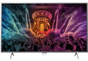 Media Markt - Philips 43PUS6201 (43'') UHD TV mit 2-seitigem Ambilight 414 €