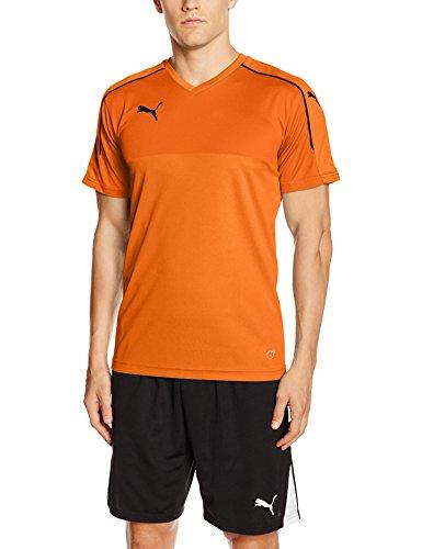 PUMA Herren Accuracy Shortsleeved Shirt *Orange - Größe M - Amazone Prime