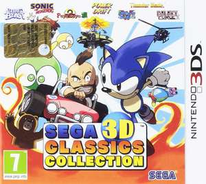 Sega 3D Classic Collection (3DS) für 21,44€ inkl. VSK (Base.com)
