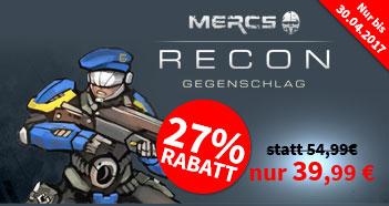 Mercs Recon - Gegenschlag [~22% Rabatt zu Idealo.de] [Spiele-Offensive]