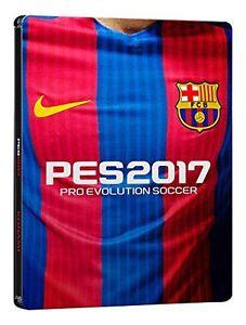 [PS4] PES 2017 FC Barcelona Steelbook Edition Neu für 15,24€