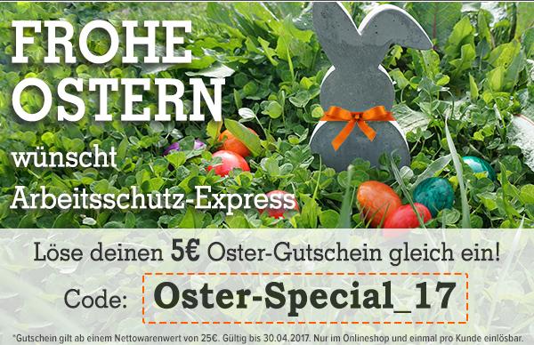 5€ Oster Gutschein auf alles ab 25€ Bestellwert