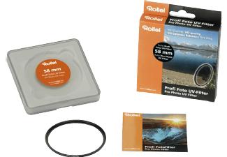 ROLLEI 26087 UV Filter (58 mm) [Media Markt]