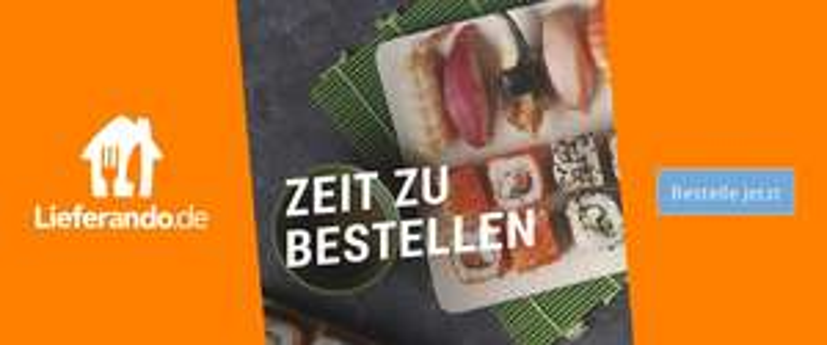 30% Cashback bei Lieferando + 6€ Neukundengutschein (12€ MBW) bzw. 1€ Bestandskundengutschein (10€ MBW) [Bei Shoop]