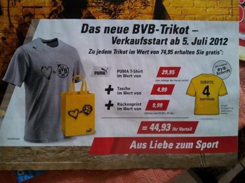 BVB Trikot Puma ab 5. juli