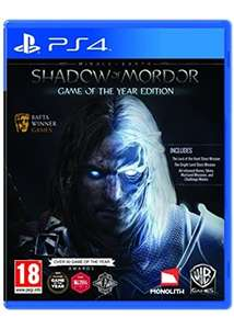 Mittelerde: Mordors Schatten Game of the Year Edition (PS4) für 15,69€ inkl. VSK (Base.com)