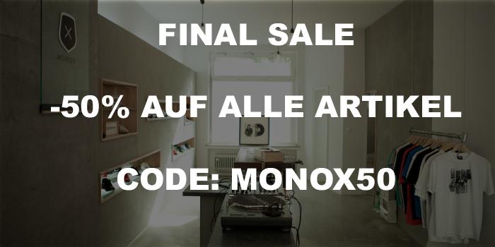 FINAL SALE bei MONOX: 50 % auf alle Artikel (Sneaker)