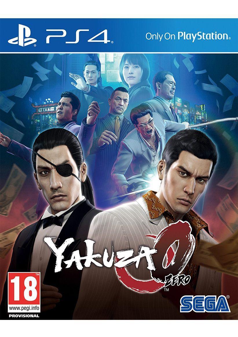 Yakuza 0 (PS4) für 35,69€ inkl. VSK (SimplyGames)