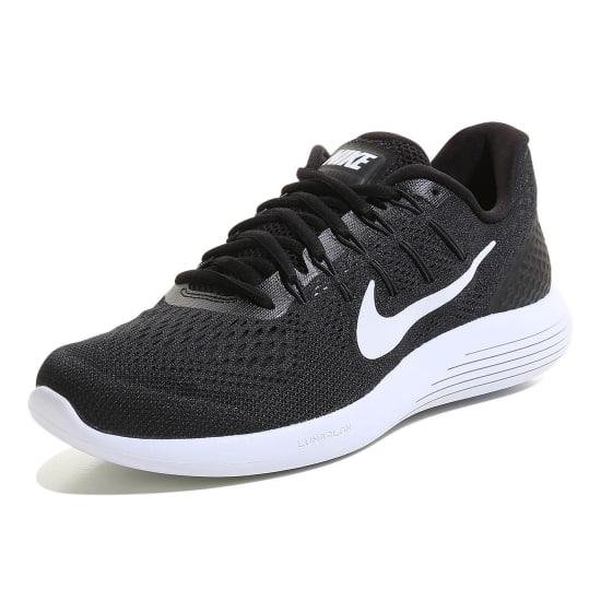 Nike Lunarglide 8 Herrenlaufschuh in Schwarz Gr. 41 - 47 für 57,89€ inkl. Versand