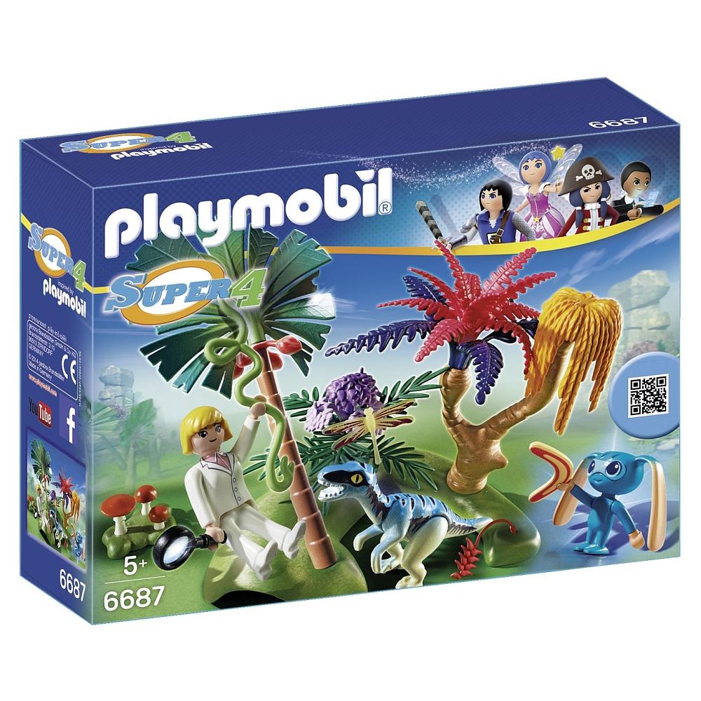 Playmobil - Lost Island mit Alien und Raptor - 6687 für 7,95€ inkl. VSK bei [ToysRUs]
