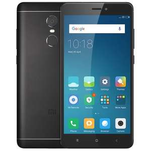 "Xiaomi Redmi Note 4  LTE 4G Phablet - GLOBAL VERSION, 3GB RAM, 32GB ROM, BLACK, BAND 20! und Original ""GEARBEST"""