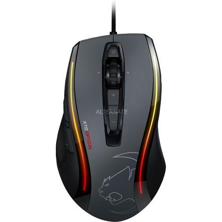 Roccat Kone XTD optical Mouse (6400dpi), 8 Tasten (doppelt belegbar), RGB Beleuchtung, Textilkabel, 4 Gewichte | PVG 79€