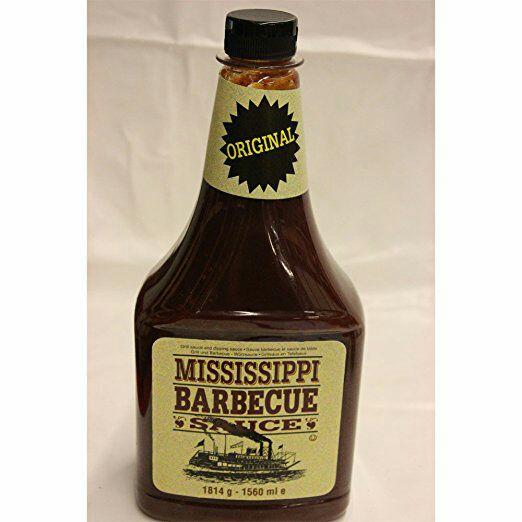 """(Offline) Für alle Grillfreunde - original Mississippi BBQ Sauce 1814gr. bei """"Netto"""""""