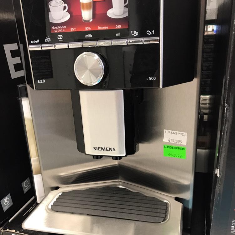 Siemens EQ.9 s500 Kaffeevollautomat TI905501DE Lokal München