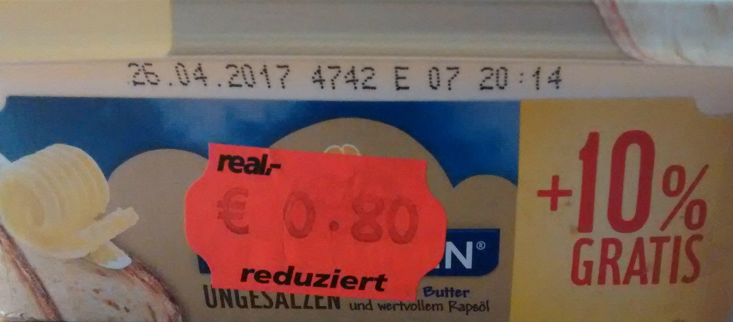 [Lokal Paderborn] real SR Arla Kaergarden ungesalzen und gesalzen 275g
