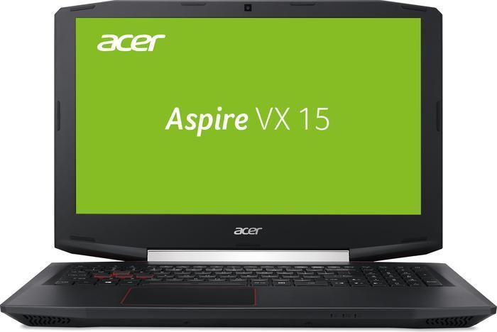 Acer Aspire VX15 (15,6'' FHD IPS matt, i7-7700HQ, 8GB RAM, 256GB SSD + 1TB HDD, Geforce 1050 Ti mit 4GB, Wlan ac + Gb LAN, USB Typ-C, bel. Tastatur, Win 10) für 949€ [Mediamarkt]