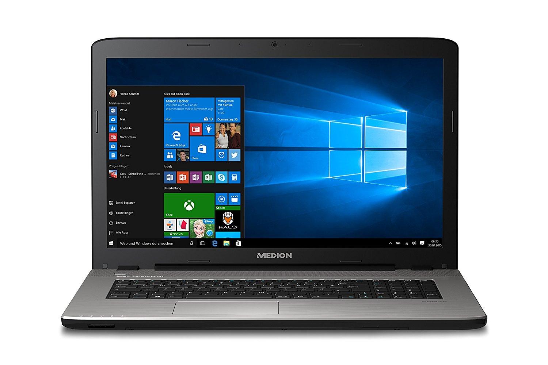 "Medion Akoya E7419 mit Pentium 4405U, 4GB RAM, 1,5TB HDD, 17,3"" Full-HD matt für 351,99€ bei Easynotebooks"