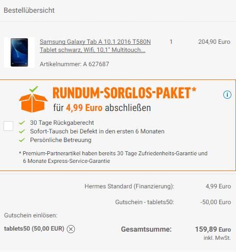 Galaxy tab A 2016 T580N Wifi