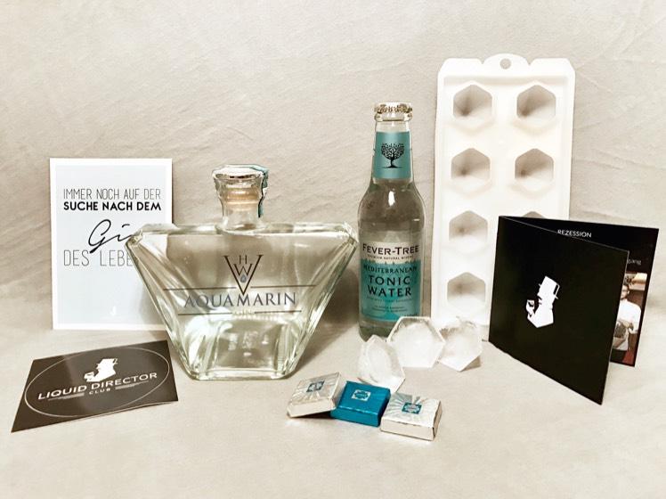 Aquamarin Gin im Geschenkset für 59€ (PVG: >80€) - Gin Geniesser Box