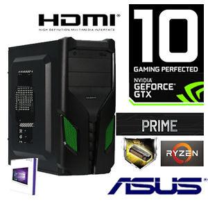 GAMER PC AMD Ryzen5 1600 +16GB+Nvidia GTX1070 8GB-1TB-Windows10-CR