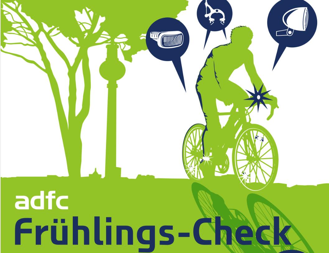 [Lokal Berlin] ADFC Frühlings-Check - mach dein Bike fit für den Sommer