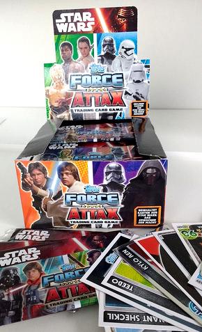 Star Wars Force Attax Display mit 50 Boostern (insgesamt 250 Karten) für 19,99€ versandkostenfrei @ [Terrashop]