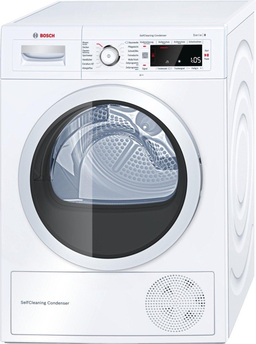 [NBB] Bosch WTW87540 Weiß Wärmepumpen-Wäschetrockner, A++, 9kg