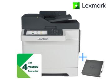 Lexmark CX510de Multifunktions-Farblaserdrucker + WLAN-Druckerserver @ibood