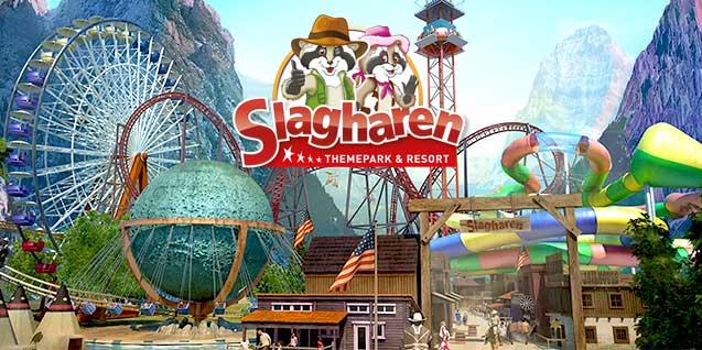 Ticket für den Freizeitpark Slagharen für 6,38€ bei DailyDeal (Niederlanden)
