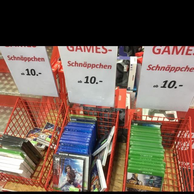 Lokal: Berlin Mediamarkt das Schloss PS4 Xbox One Spiele