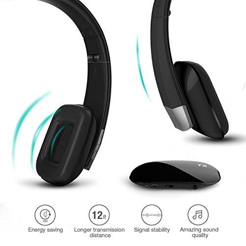[Wiederaufladbarer] Kabelloser HiFi Over-Ear Kopfhörer