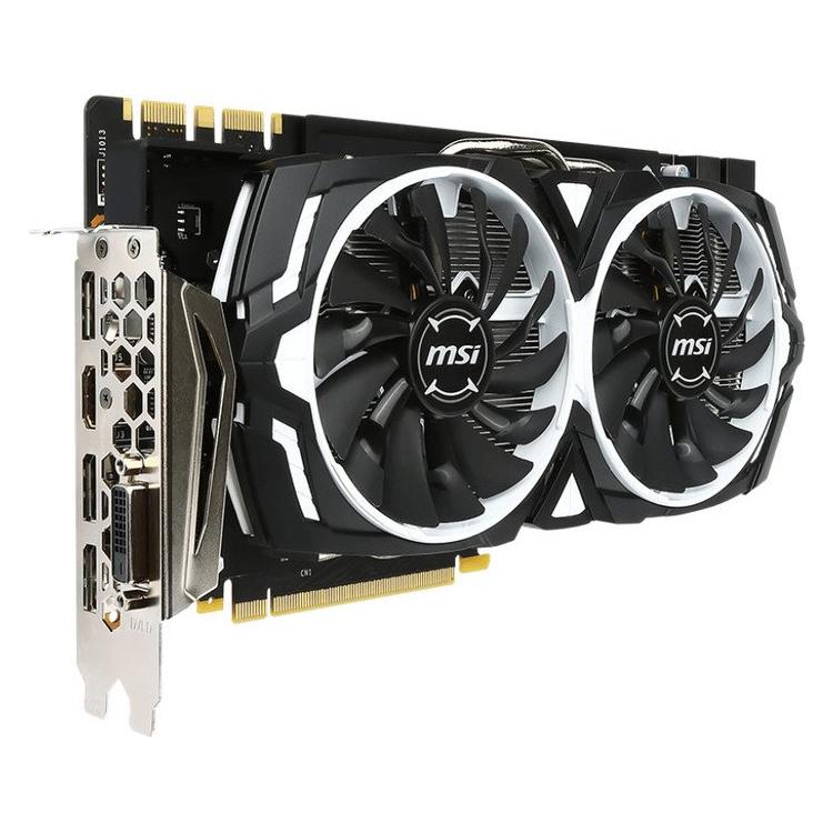 MSI GeForce GTX 1080 Armor 8G OC 8GB GDDR5X (Notebooksbilliger + Cashback möglich)