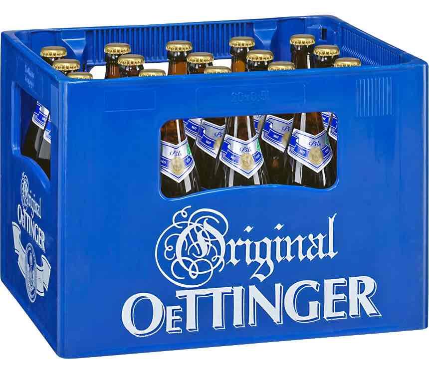 Kaufland mal wieder Oettinger verschiedene Sorten