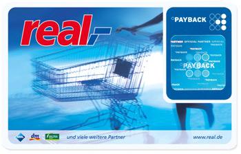 [real,- bundesweit] 1000 Paybackpunkte ab einen Einkauf von 100€