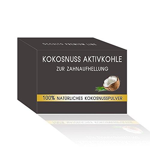 Natürliche Premium Kokosnuss Aktivkohle zur Zahnaufhellung (Gratis, Kostenlos, Freebie, 0€) Amazon Prime