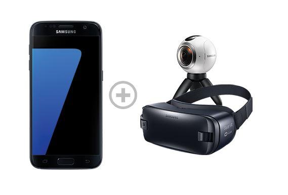 GRATIS Gear 360 und Gear VR beim Kauf eines Galaxy S7 für 599 € im Samsung Online Shop!!!