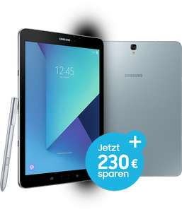 [Studenten] Samsung Tab S3 WiFi oder LTE mit Book Cover oder Book Cover Keyboard
