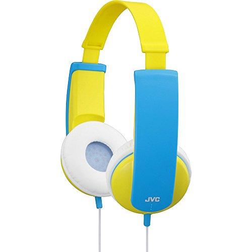JVC HA-KD5-Y-E Kinder Stereo Kopfhörer gelb und pink