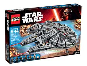 May the Fourth be with you! Millenium Falcon 75105 für 89,99€ [Lego-Store] Liste im Deal