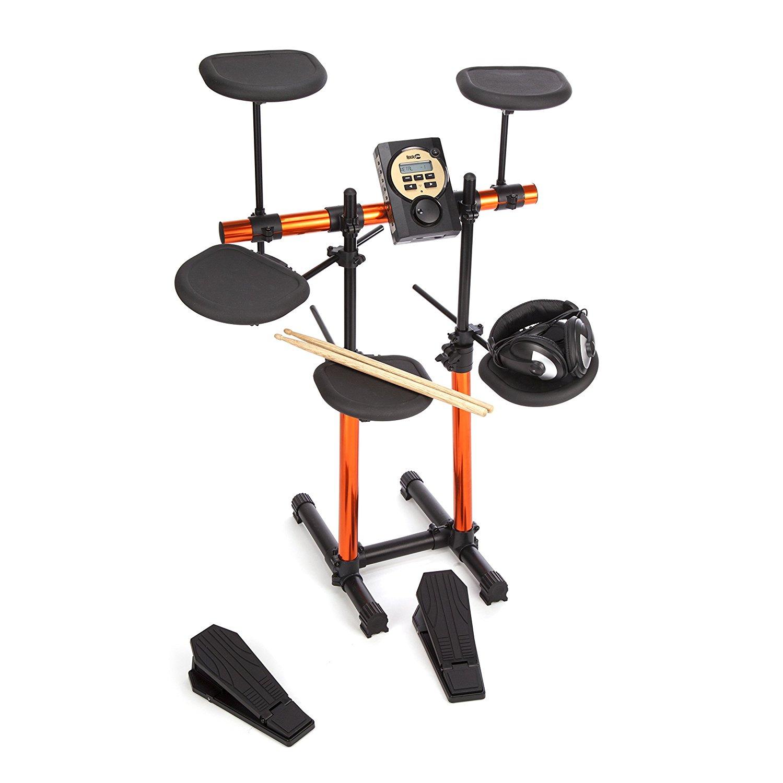 [AMAZON]RockJam RJRDB205 Elektronisches Schlagzeug (7 Trommeln, MS310 Soundmodul, Kopfhörer)