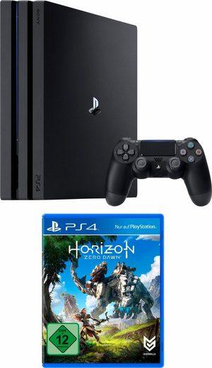 PlayStation 4 (PS4) Pro 1TB + Horizon Zero Dawn (359,99€ für Neukunden)