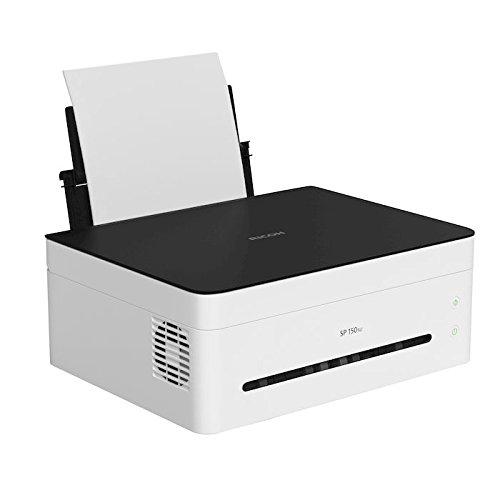 Kompakter Laserdrucker Scanner Kopierer Ricoh SP150SU von Amazon, Prime